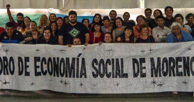 «Trabajamos para el crecimiento de la economía social en Moreno»